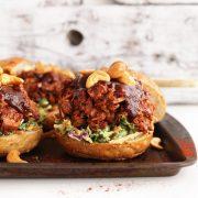 BBQ Jackfruit Sandwiches. Vegan and gluten free