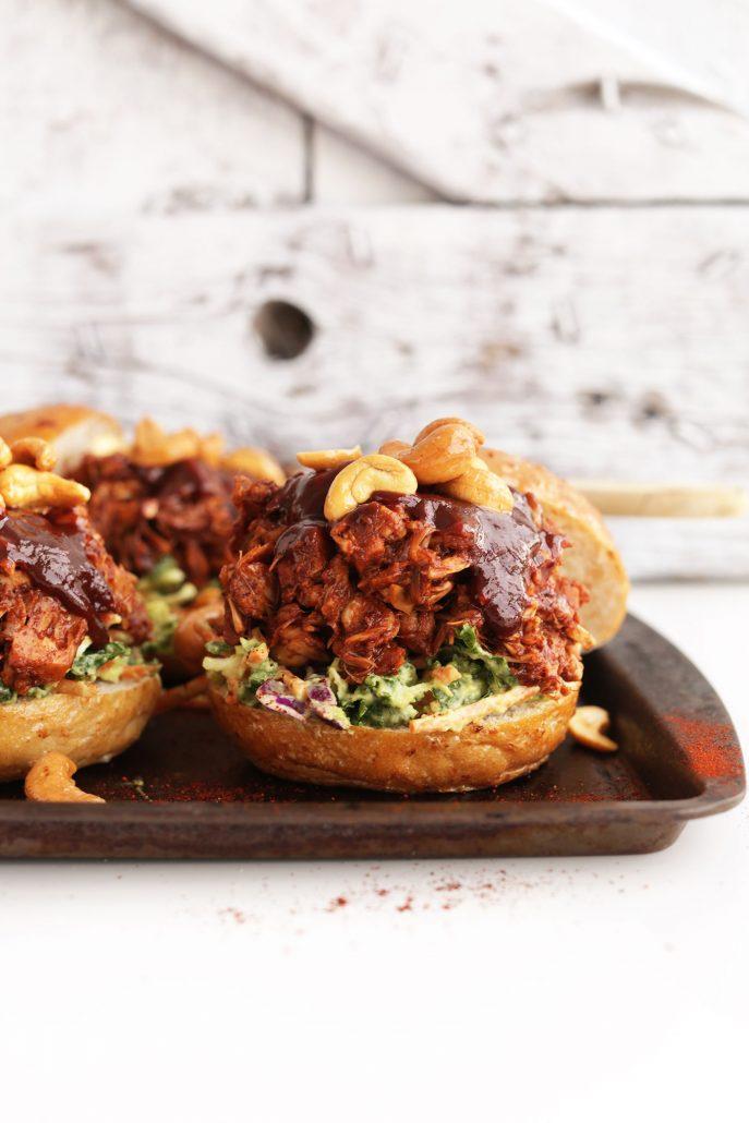 Photo of BBQ Jackfruit Sandwiches