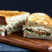 Jackfruit-Tuna-Melt-Sandwich
