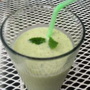 Jackfruit Mint Smoothie